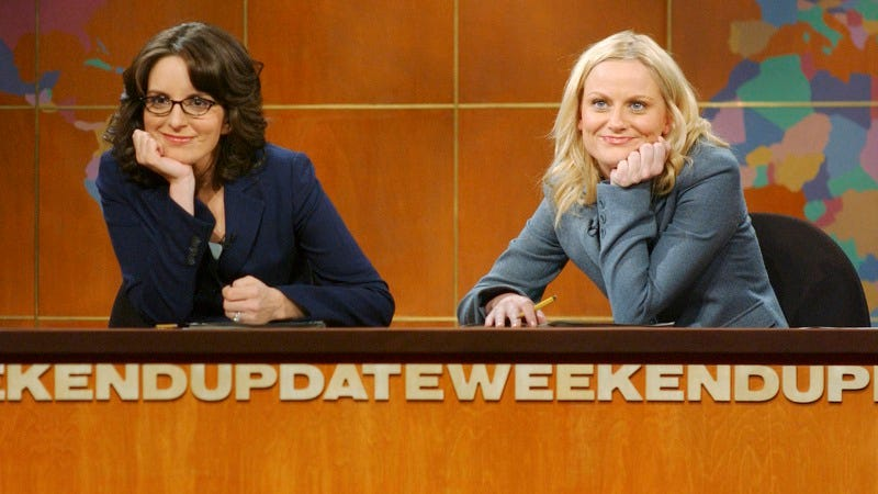 Illustration for article titled Now you can buy action figure versions of Amy Poehler and Tina Fey