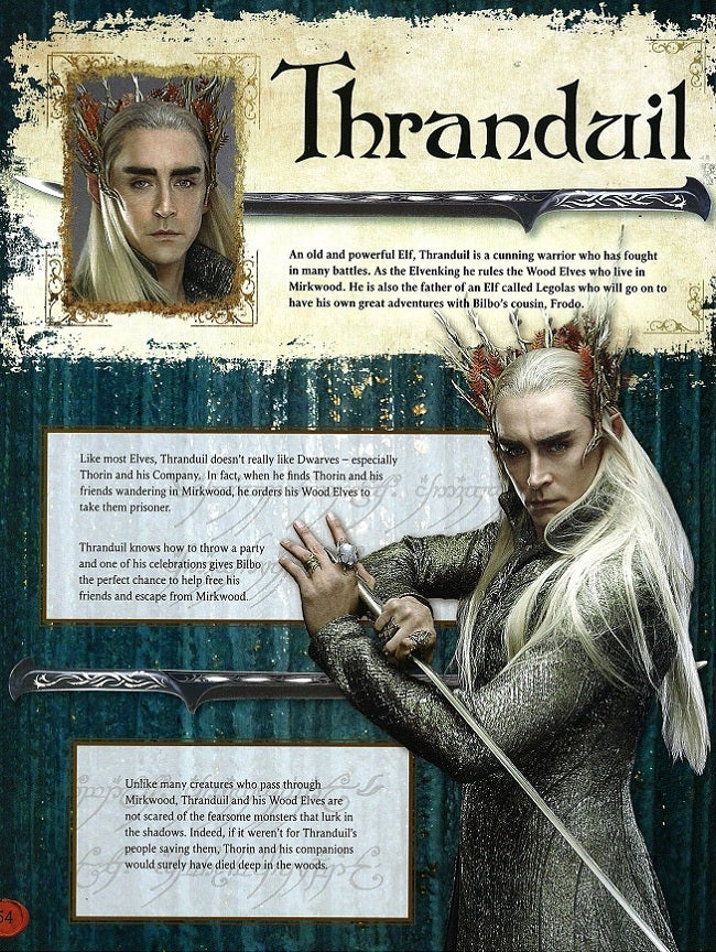 First image of Legolas' father drapes The Hobbit's elf ...