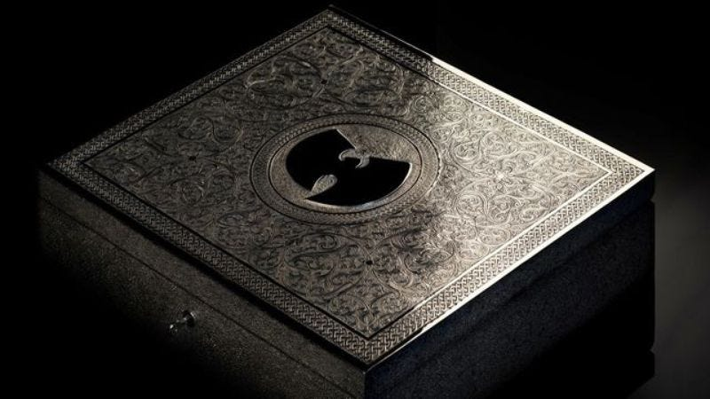 Illustration for article titled The $5 million Wu-Tang Clan record still doesn't have a buyer