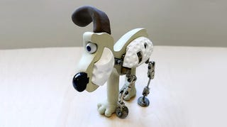 Illustration for article titled The guts of Gromit, the dog from Wallace and Gromit