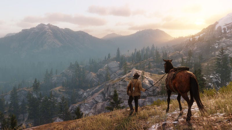 Red Dead Redemption 2, the next game from Rockstar, will be out on October 26.