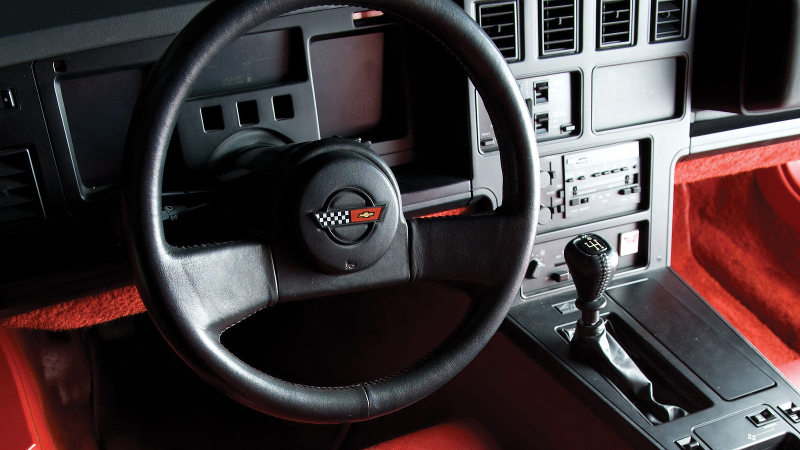 The Chevrolet Corvette C4's 'Doug Nash 4+3' Manual