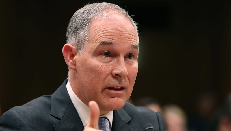 Illustration for article titled Scott Pruitt Claims Misappropriated EPA Funds Would Have Only Been Wasted On Dumb Shit Like Clean Water