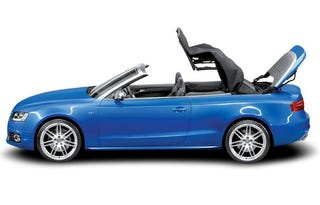 Illustration for article titled 2009 Audi A5 Convertible Pictures Leak Out Ahead Of Official Unveil