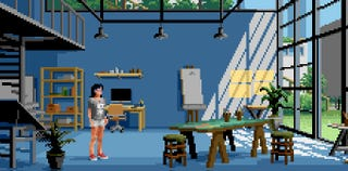 Illustration for article titled Pixel Art Game Will Teach You Pixel Art