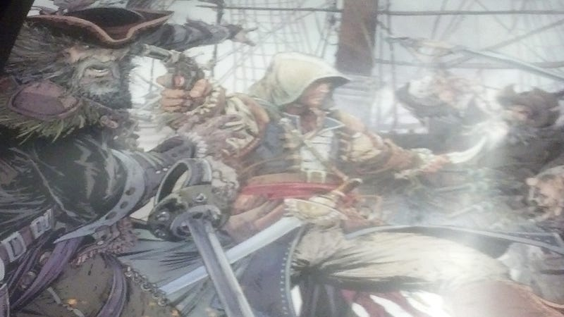 Illustration for article titled Assassin's Creed IV Is All About Pirates, According To This Poster