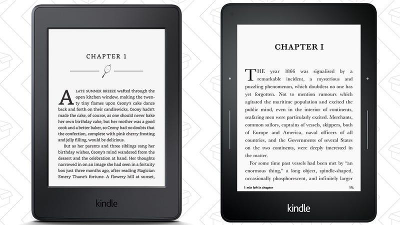 Refurb Kindle Paperwhite, $80   Refurb Kindle Voyage, $120