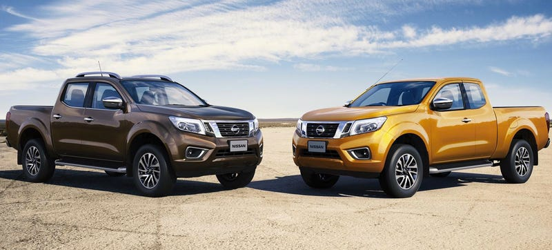 Check Out Every Angle Of Almost Definitely The 2015 Nissan Frontier