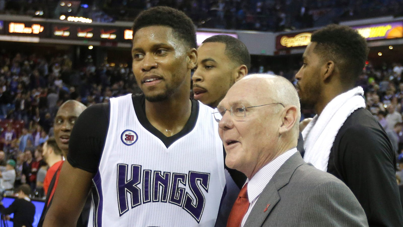 "Rudy Gay To George Karl ""Wel e To Basketball Hell"""
