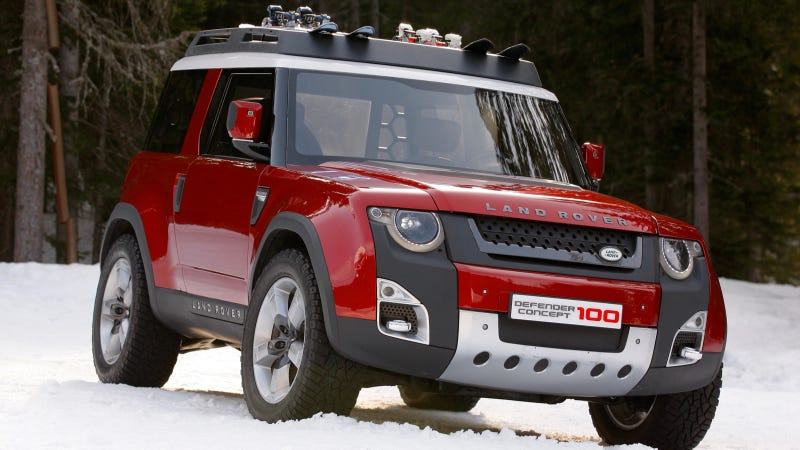 Illustration for article titled The Next Land Rover Defender Is Coming To America