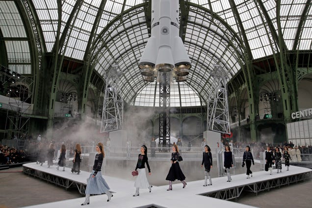 Chanel Closes Fashion Week With a Giant Rocket Launch