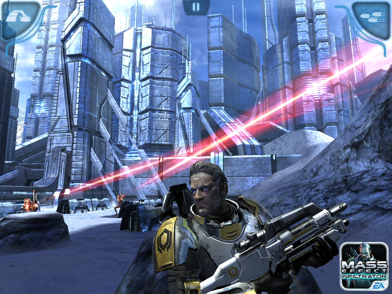 Illustration for article titled Mass Effect Infiltrator Delivers Galaxy-Hopping Combat to the iPad