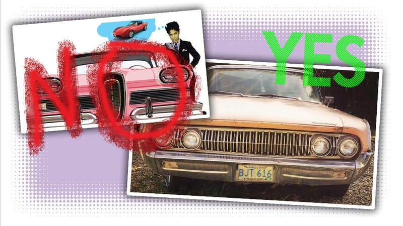 Illustration for article titled Everybody Was Wrong About The Car That Inspired Prince's 'Little Red Corvette'