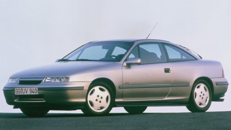 Illustration for article titled How Americans Came Close To Getting The Slick Opel Calibra
