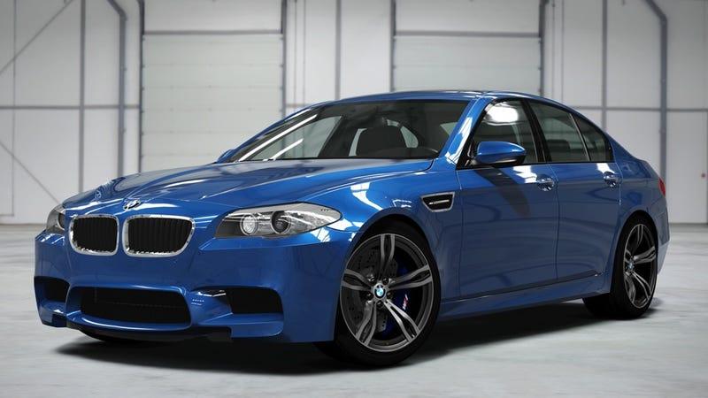 Illustration for article titled 2012 BMW M5: Forza Motorsport 4