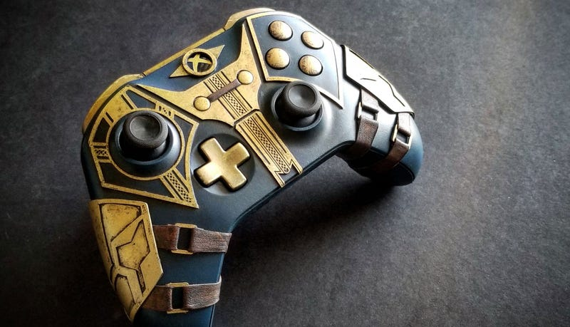 Illustration for article titled Elder Scrolls Xbox Controller Is Real Nice
