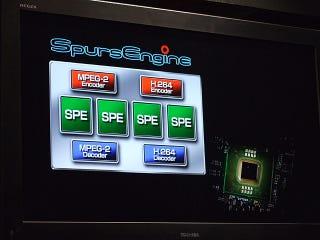 Illustration for article titled Toshiba's Demos SpursEngine-Equipped Qosmio, Uses Cell Broadband Engine Technology