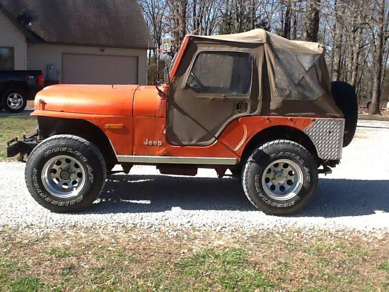 Por $ 3,750, ¿Podría este 1978 Jeep CJ-5 ser su nuevo amor de verano?
