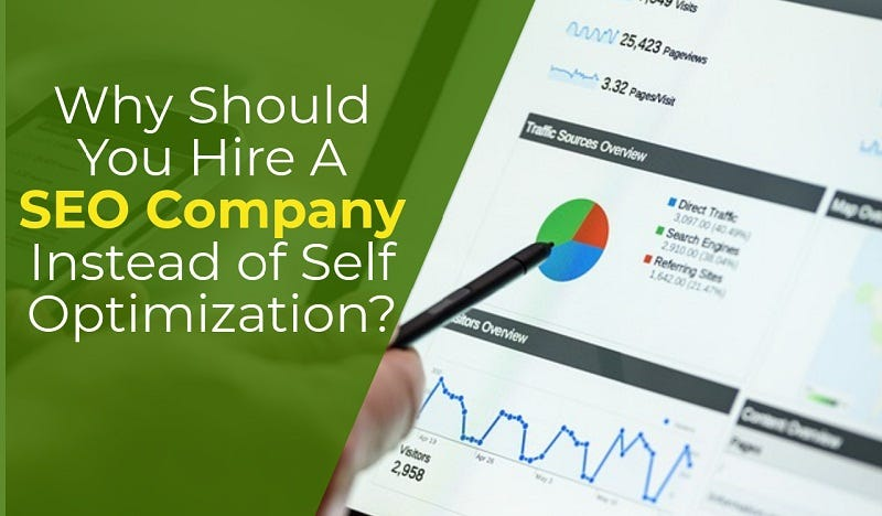 Illustration for article titled Why Should You Hire A SEO Company Instead of Self Optimization?