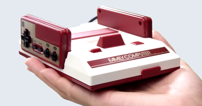 Illustration for article titled Nintendo dejó un mensaje oculto en el código de la versión japonesa de la Mini NES
