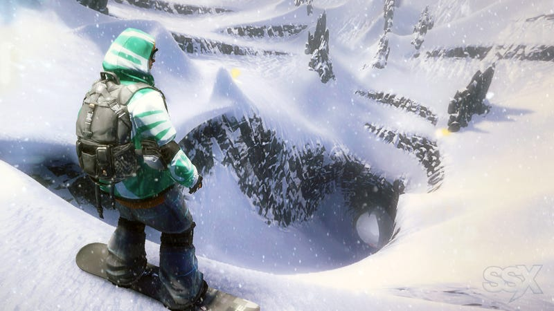 Illustration for article titled Pouring Like an Avalanche Down SSX's First Mountain