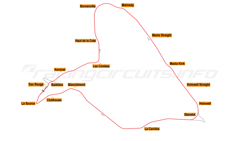 Illustration for article titled CONTEST: come up with two more layouts for Spa-Francorchamps, show Tilke how it's really done