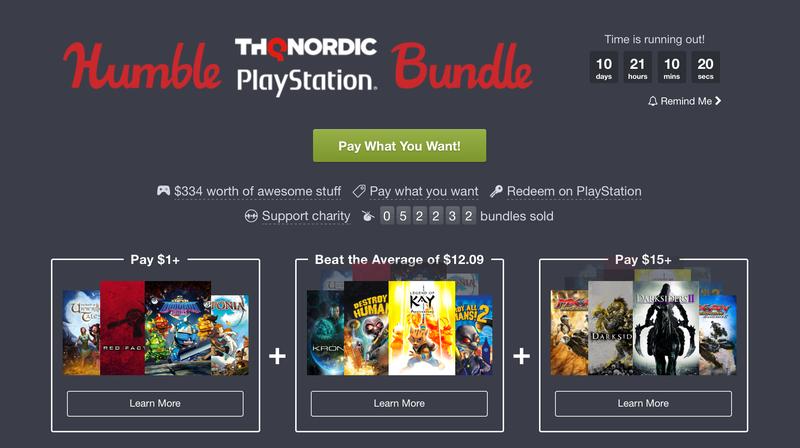 THQ Nordic Humble Bundle