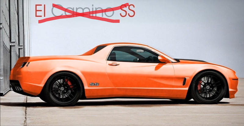 The New Chevrolet El Camino Is A Lie