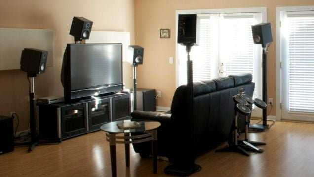 How to get more from your home theater without paying a dime for Small room 7 1 setup