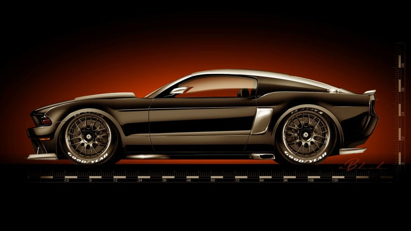 Fighting Above Its Weight Class Hollywood Hot Rods Ford Mustang Gt