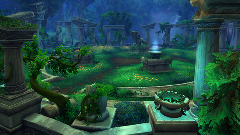 Illustration for article titled World of Warcraft: Legion's New Arena Looks Perfect For Hide And Seek