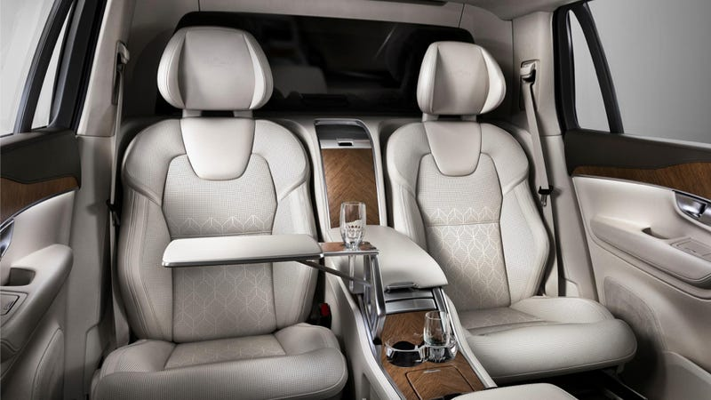 Volvo Xc90 Interior >> The Exquisite Interior Of The Volvo Xc90 Excellence Will Melt Your