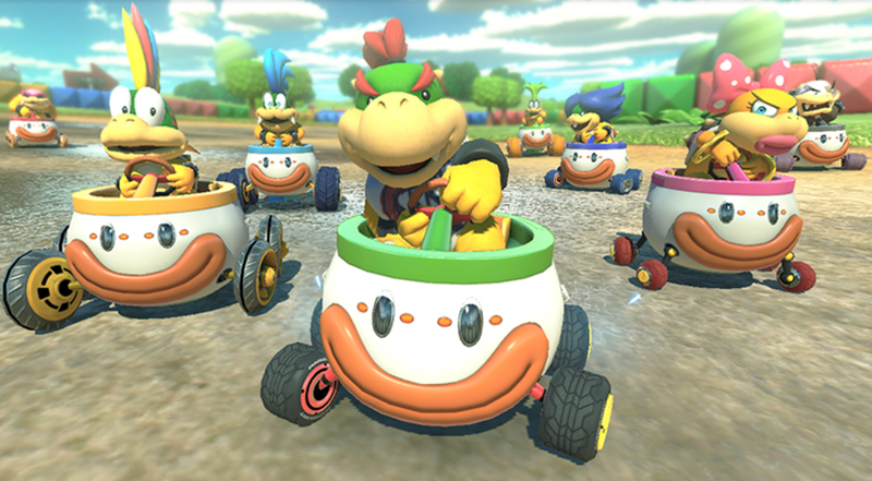 Illustration for article titled Mario Kart 8 Update Gives You Even Better Items When You're Losing