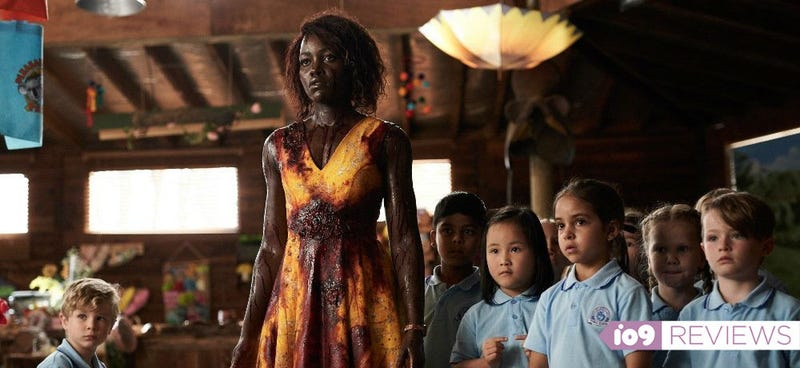 Lupita Nyong'o puts zombies on time-out in Little Monsters.