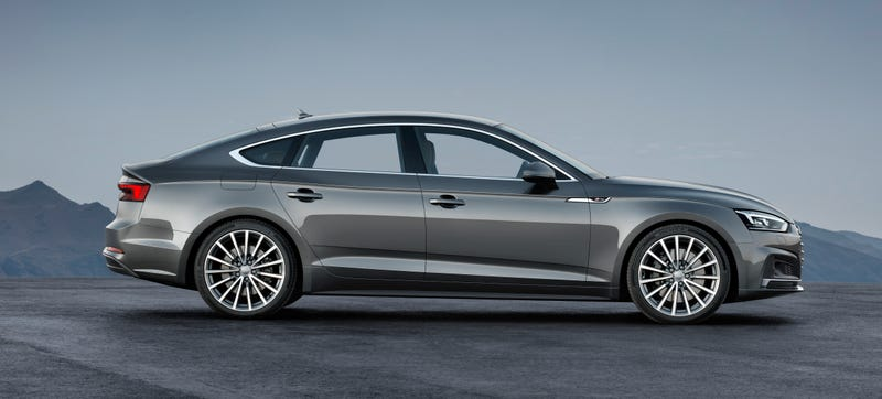 The Audi S5 Sportback Is The Weird Audi Coupe-Thing For The Slightly