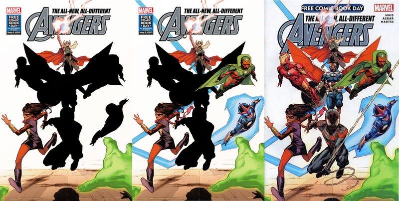 Illustration for article titled Marvel presenta a los nuevos integrantes de Los Vengadores en el cómic