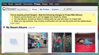 Illustration for article titled Picasa Now Offering Virtually Unlimited Photo Storage, Brings Google+ Tagging