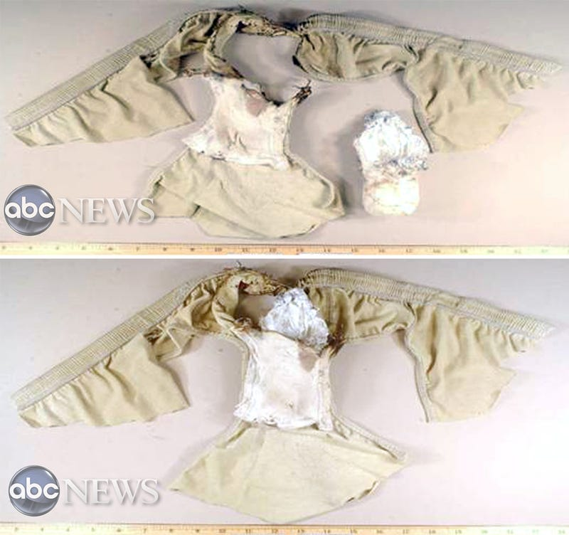 Illustration for article titled The Exploding Terrorist Underwear That Nearly Took Down a Plane