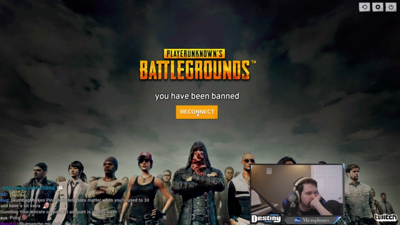 Illustration for article titled Popular Twitch Streamer Banned From Battlegrounds After Exploiting Glitch