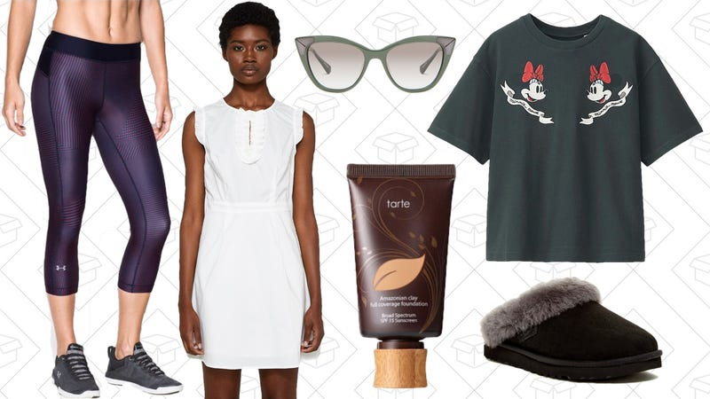Illustration for article titled Today's Best Lifestyle Deals: Tarte Cosmetics, Uniqlo, Under Armour, UGG, and More