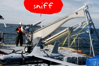 Illustration for article titled ScanEagle Sniffs Biological Threats, Tells When You Have to Start Running