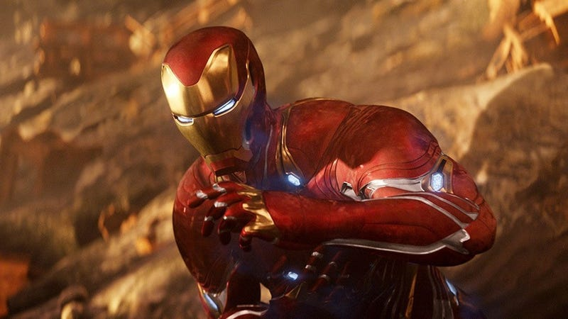 Iron Man en Avengers: Infinity War.