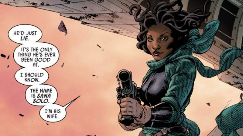 Illustration for article titled Marvel's latest Star Wars comic reveals a big secret from Han Solo's past