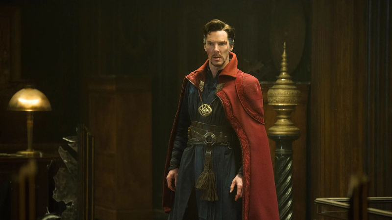 Doctor Strange, contemplating the afterlife, probably.