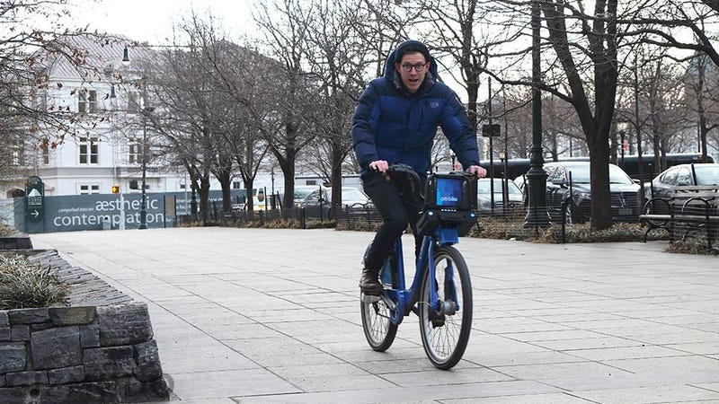 Illustration for article titled How It Feels to Ride an Electric Citibike