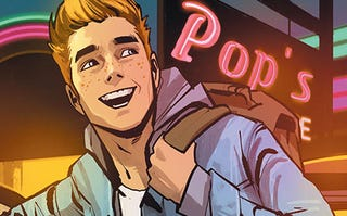 Archie Andrews in a rare happy moment. Probably right before Sabrina does something terrible to him.