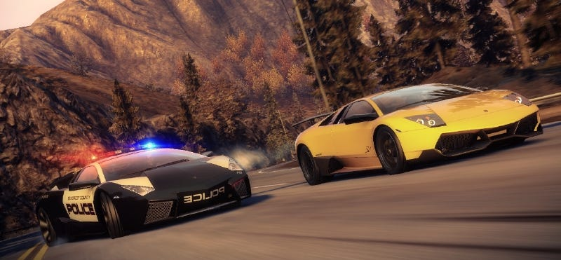 the cars of need for speed: hot pursuit