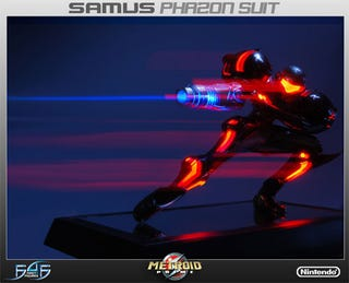 Illustration for article titled Metroid Prime Phazon Suit Statue