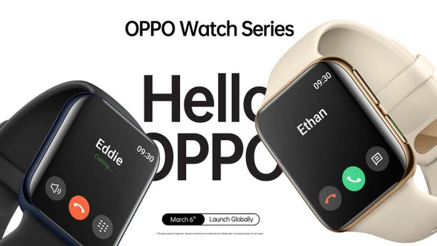 Cool, Here s Another New Smartwatch That Looks Like an Apple Watch