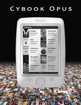 Illustration for article titled Handy Cybook Opus E-Book Reader Fits in Your Pocket